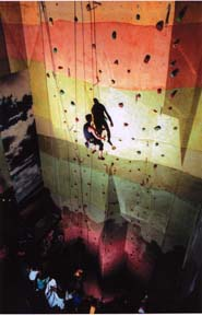 Tallest climbing wall in Western Canada!